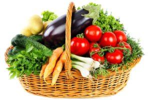 panier légumes pousse d'avenir