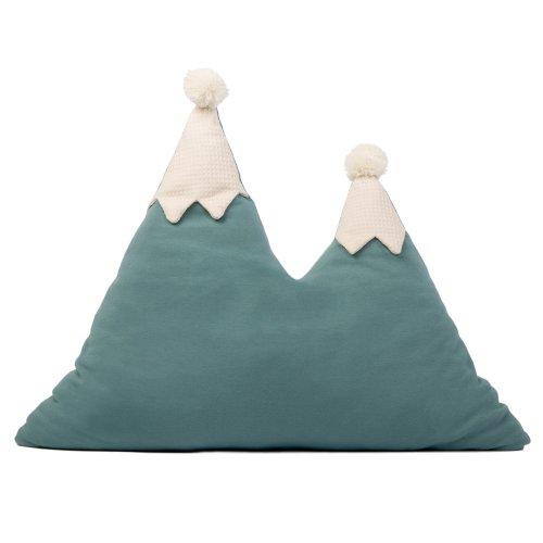 coussin en forme de montagne