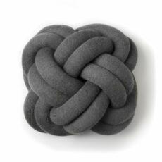 coussin knot gris